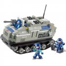 Space War Battle Tank Truck Soldier Station Army Lego Compatible Toy