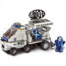 Army Radar Communication Satellite Truck Soldier Lego Compatible Toy