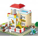 City Villa Apartment Hotel Home House Garden Lego Compatible Toy