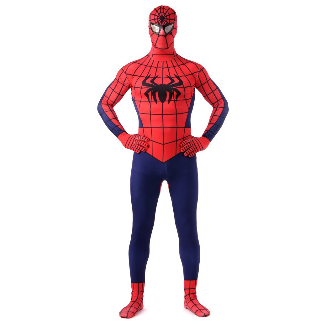 Spider Men bodysuit cosplay zentai cosume