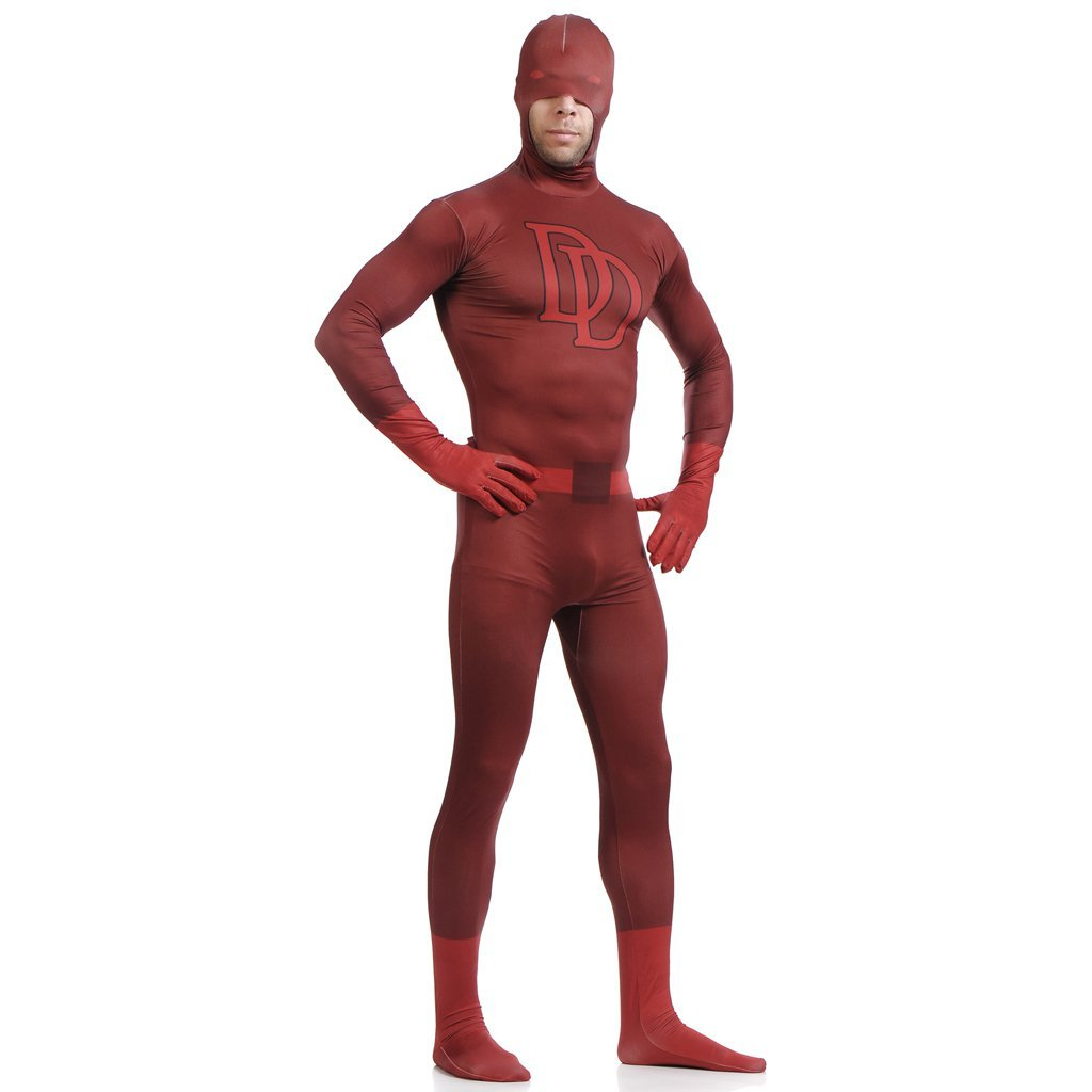 Daredevil Bodysuit Zentai Cosplay Costume For Halloween Cosplay