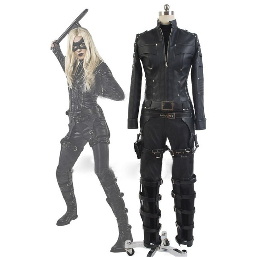 Women's Halloween Costume Green Arrow Season 3 Black Canary Laurel Lance Costumes