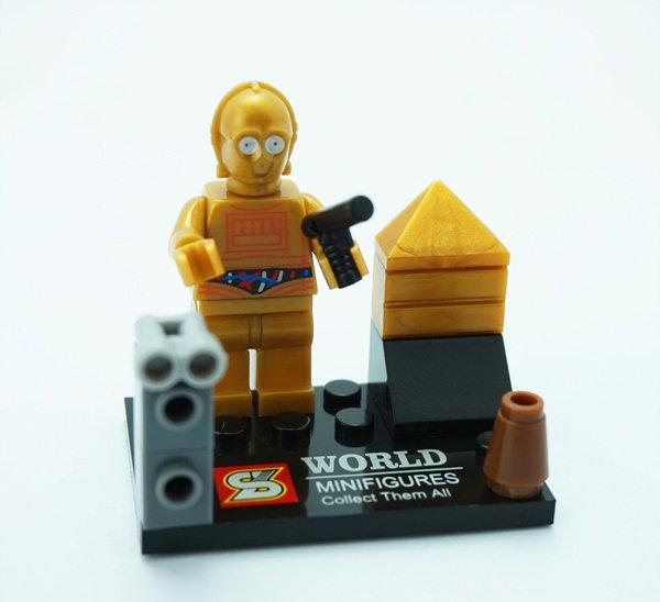 Lego Star Wars Minifigure Compatible C3PO