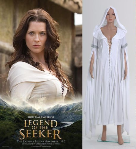 Women's Dress Legend of the Seeker Kahlan Amnell Cosplay Costumes Cool Gift