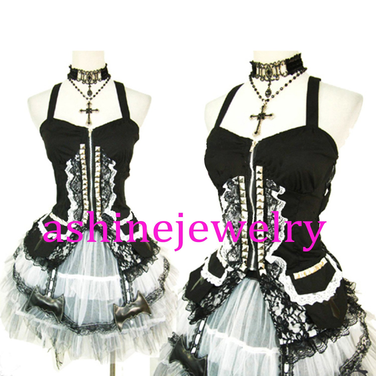 Women's Dress Baroque Victorian Dance Dress Cosplay Party Gothic Dress