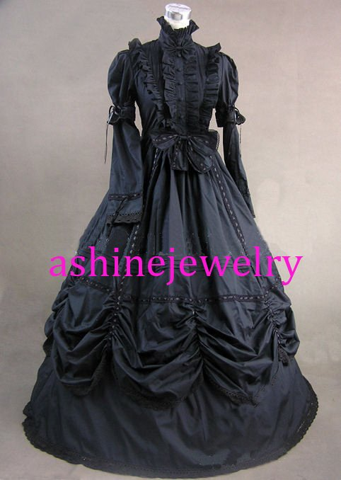 Women's Dress Rococo Baroque Fancy Gown Lolita Dress Cosplay Costumes for Female