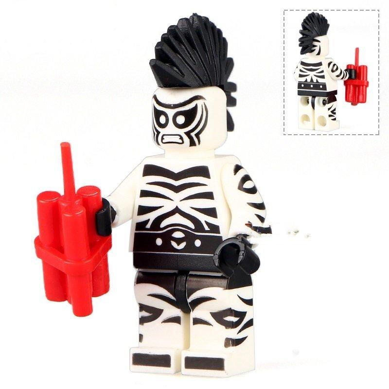 Zebra Man Villain The Lego Batman Compatible movie Minifigure Toys