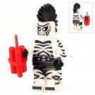 Zebra Man Villain The Lego Batman Compatible movie Minifigure Toys