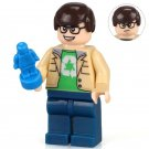 Leonard THE BIG BANG Theory TV TBBT Lego Minifigure Compatible Toy