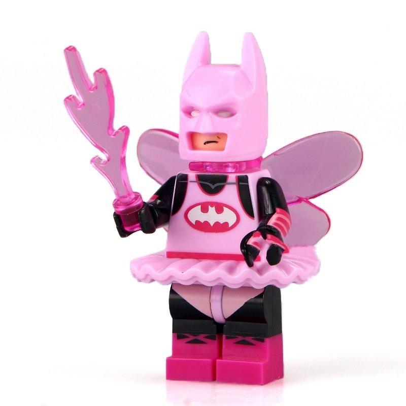 Batman DC super heroes Pink Fairy minifigure Lego Compatible Toys