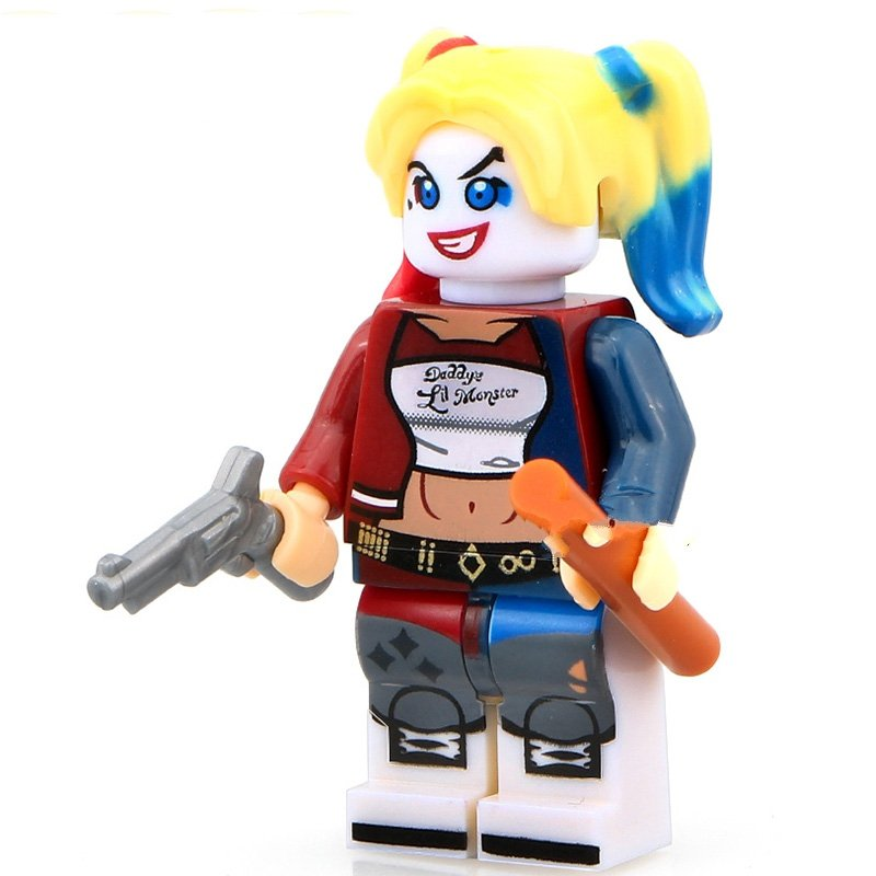Harley Quinn DC Suicide squad Minifigures Lego Compatible Toy