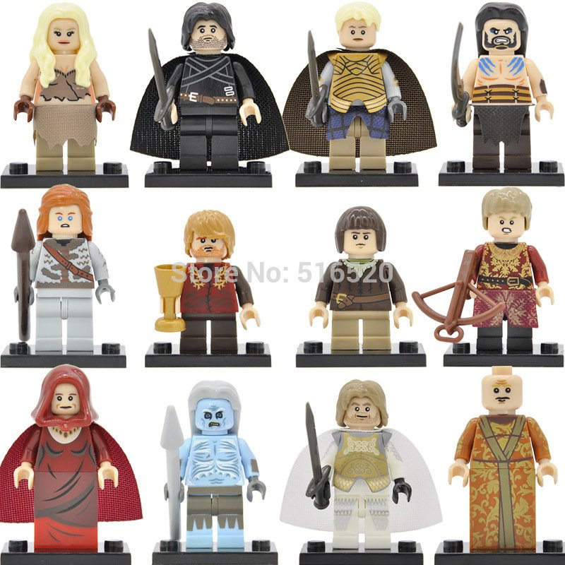 Game of Thrones Minifigures Song of Ice and Fire Lego Compatible Toy