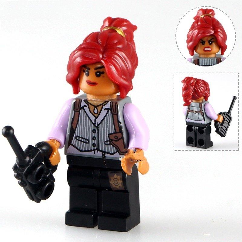 Barbara Gordon Minifigure The Batman Movie Lego Compatible Toys