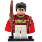 Harry Potter with broom Minifigures lego Compatible Toys