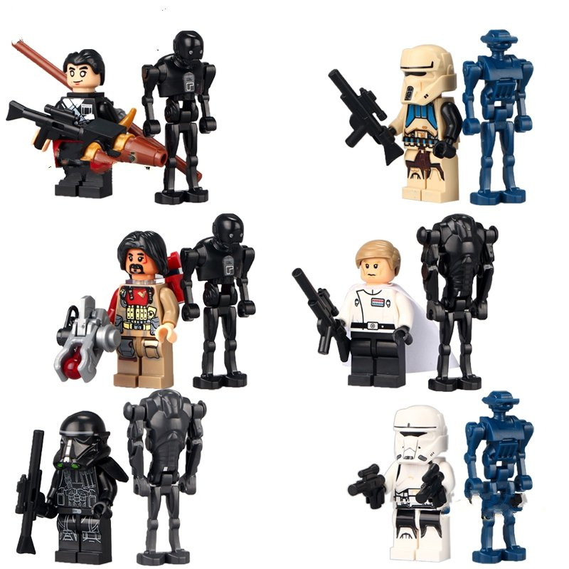 Star Wars Rogue One TX20 K-2SO Droid Minifigure Lego Compatible Toy