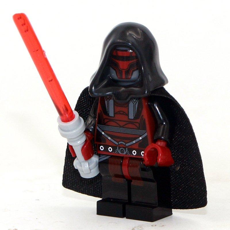 Darth Revan Lego Star Wars minifigure Compatible Toy