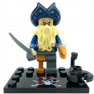 Davy Jones Minifigures Pirates of the Caribbean Lego Compatible Toy
