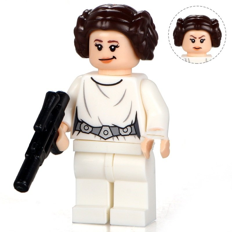 Princess Leia White Star Wars Rogue one minifigure Lego Compatible Toy
