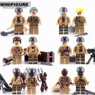 Biochemical War soldier military  Lego Minifigures Compatible Toys