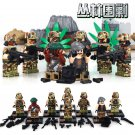 Jungle Assault Sniper Command Scout swat Military Lego Compatible minifigure Toy