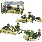 Military Army Combat War with weapon Minifigures Lego Compatible Toy