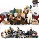 World War Battle Soviet Union swat Lego Military Minifigure Compatible Toy