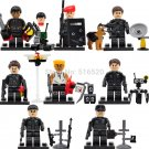 Lego Compatible Toy Swat Military Falcon Commandos Terrorist Minifigures