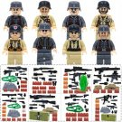 world war West Line military swat Minifigures Lego Compatible Toy
