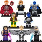 Marvel X-Men Super heroes Minifigures Lego Compatible Toy