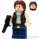 Star Wars Young Han Solo Rogue One Lego Minifigure Compatible Toys