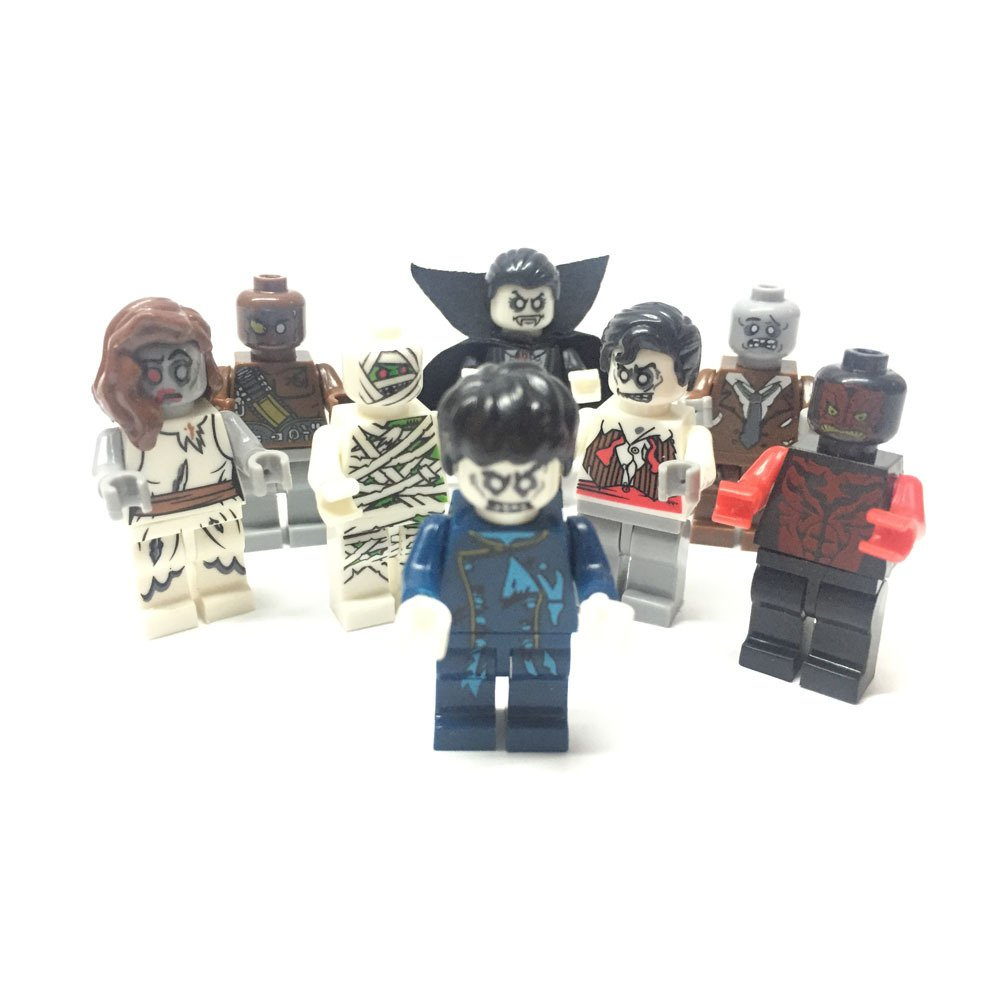 Zombie World The Walking Dead movie minifigure Lego Compatible Toy