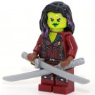 Gamora Limited Edition Guardians of Galaxy minifigures building Lego Compatible toys