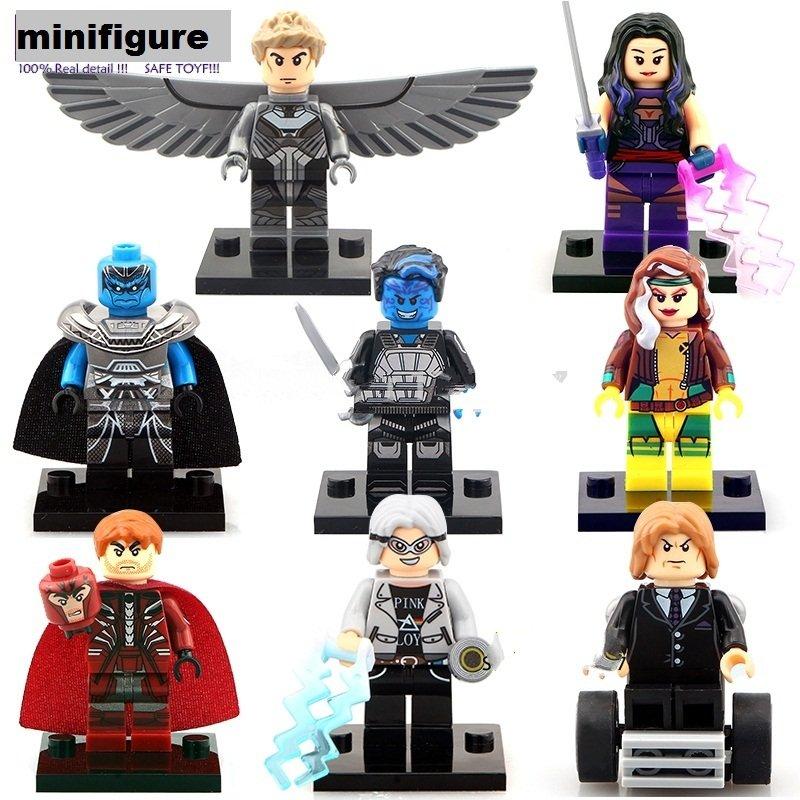 Marvel Superhero X-Men Apocalypse Minifigure Lego  Compatible Toy