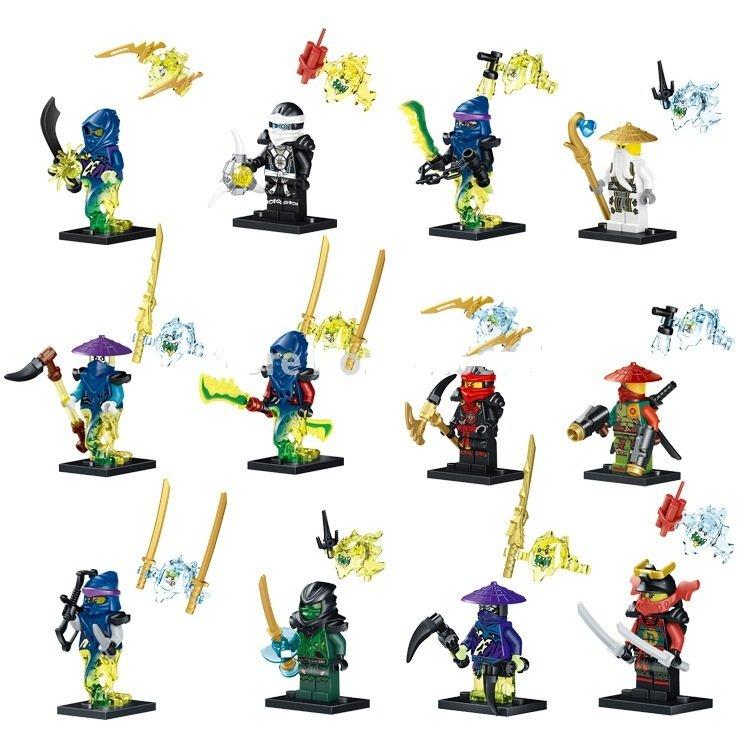 Lego Ninja Kai Cole Cowler Minifigure Compatible Toy