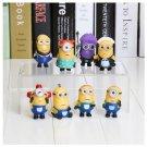 3D Eye Mini Toys Despicable Me Minions Figure PVC Doll Kids Gift Idea