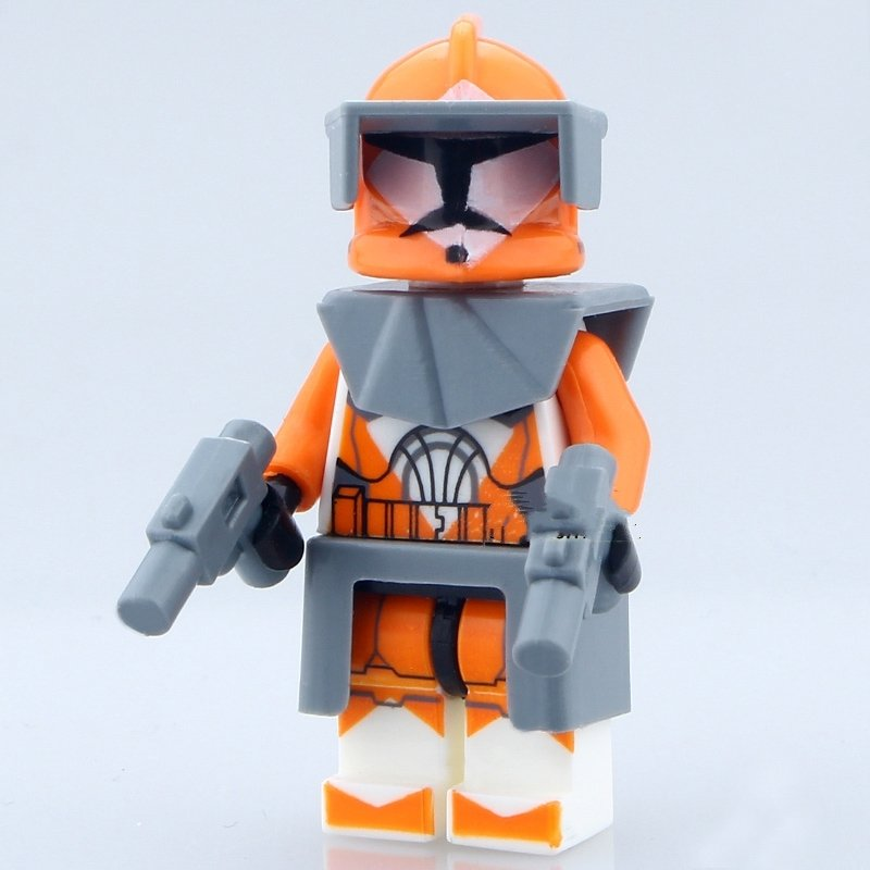 NEW Bomb Squad Trooper  Lego Star Wars Minifigure Compatible Toy