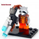 Rocket Raccoon Guardians of Galaxy Minifigures Lego Compatible Toy