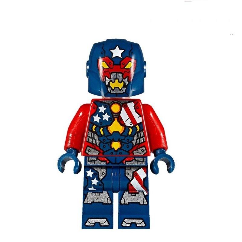 Justin Hammer Marvel super heroes Minifigures lego Compatible Toy