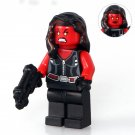 Red She-hulk Marvel Super heroes Lego Minifigures Compatible Toy