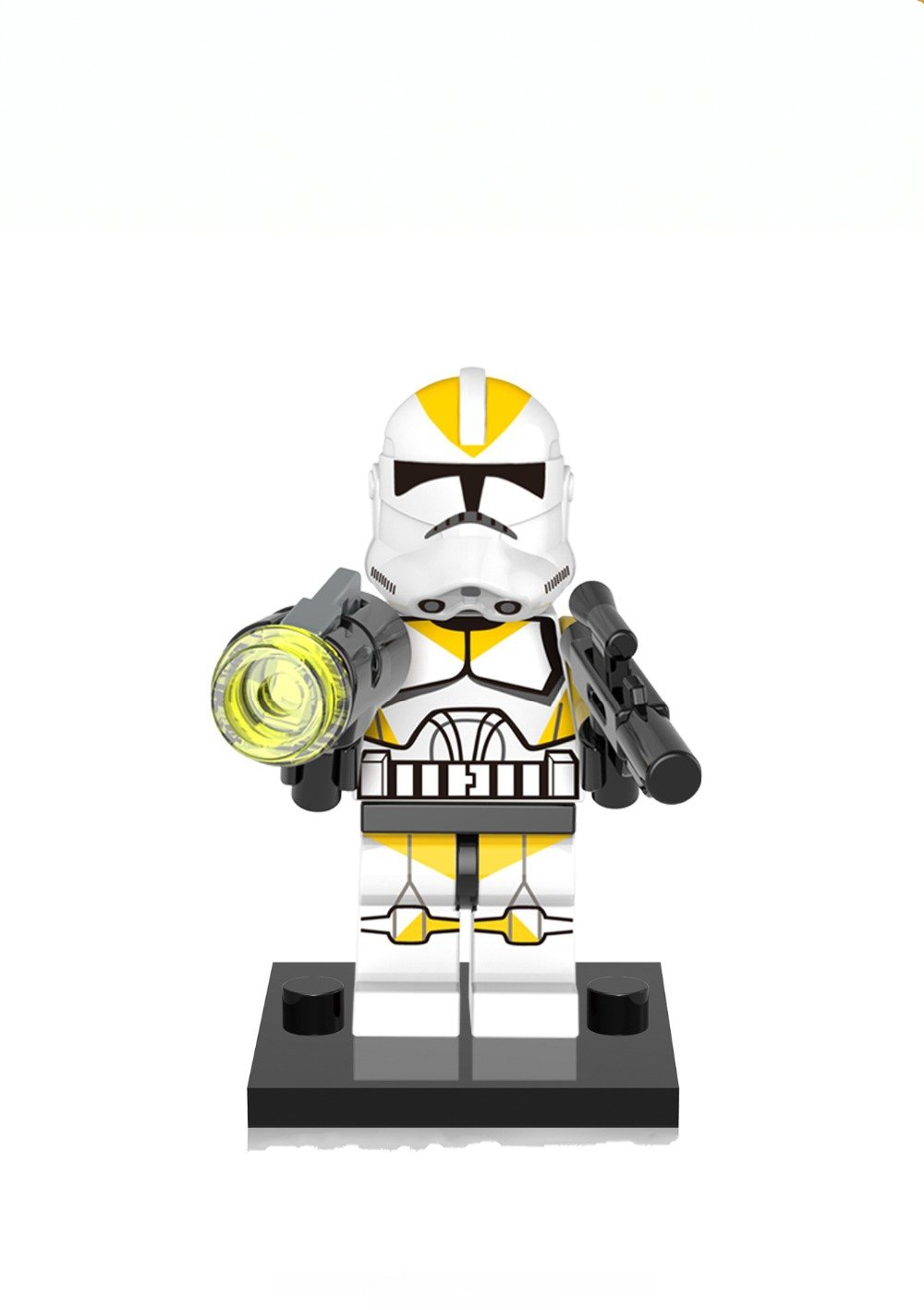 Yellow Utapau Clone Trooper Star Wars Lego Minifigure Compatible Toy
