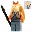 Jar Jar Binks Star Wars Lego Minifigure Compatible Toy