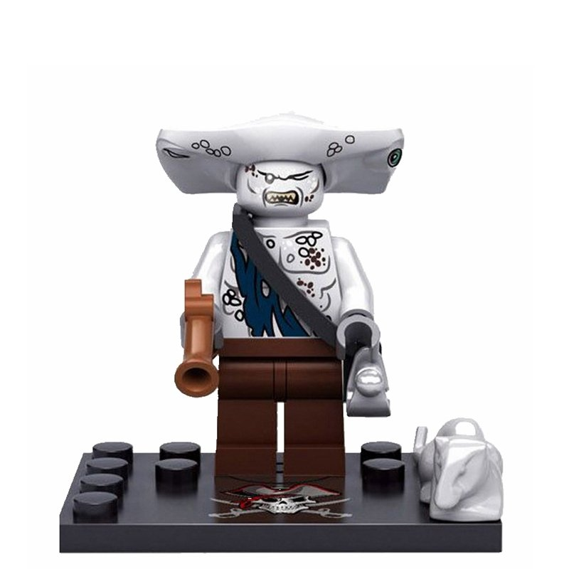 Maccus Pirates of the Caribbean minifigure Lego Compatible Toy