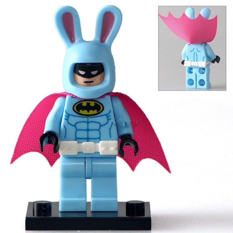 Rabbit Batman With Belt DC Super Heroes Minifigure Lego Compatible Toy