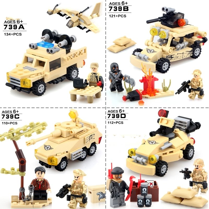 Falcon Commandos SWAT Special Force Lego Military  Compatible Toy Minifigure