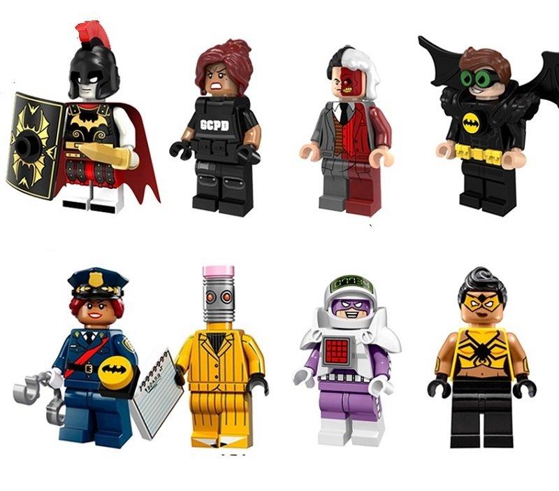 DC Super Heroes Spiderwoman Roman Lego Minifigure Compatible Toy