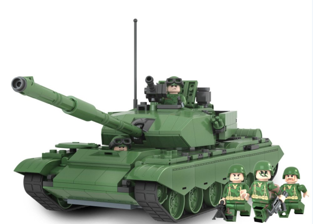 Military Tank Series The Type 99 Main Battle Tank Holiday Gift Lego Military Compatible With