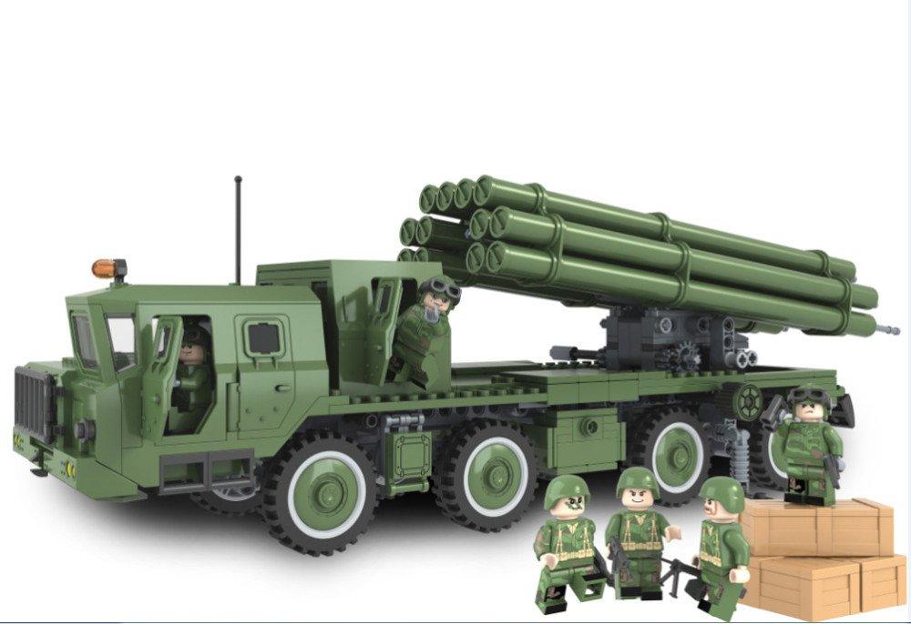 Military BM 30 Russian Model Rockets Own Marine Hero Legoe Compatible Toy