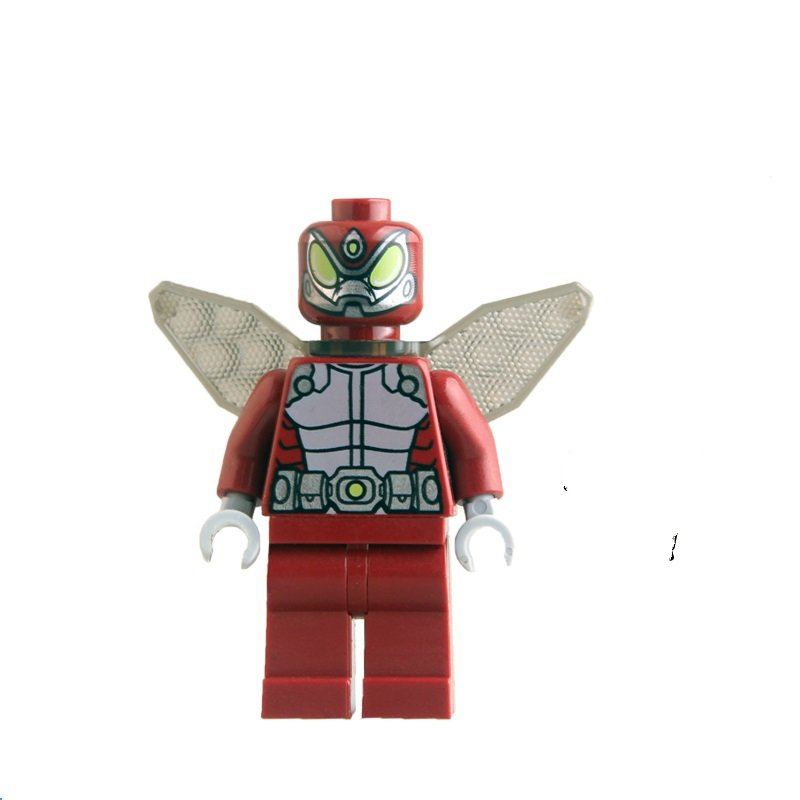 Red Beetle DC super hero minifigure Lego Compatible toy