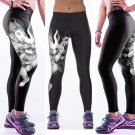 Elephant Digital Print Fitness Yoga Leggings Lord Ganesh Women Pants