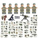 WW2 North Africa Campaign US Lego Military Minifigures Compatible toys